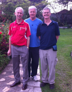 September 2013 Team  Drs John, Paul, Peter