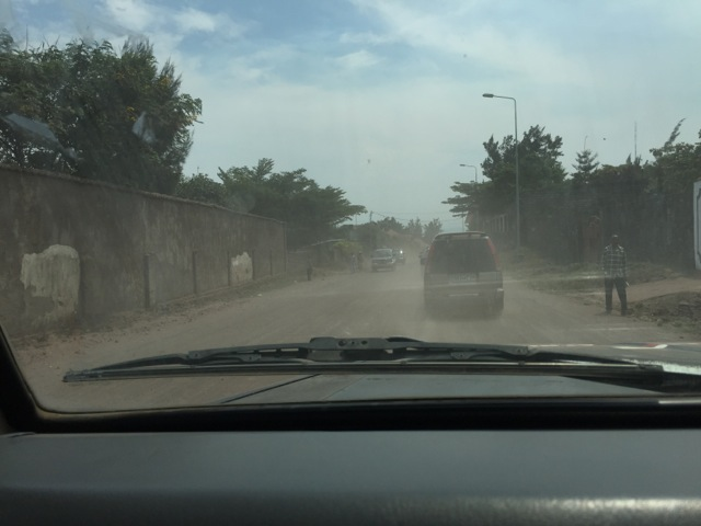 Dusty Goma Roads