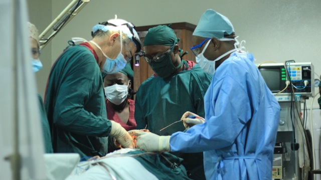 Dr Jack Arvier and HAH Surgeons