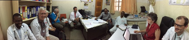 Exit Meeting with AusHEAL 'Team 3'