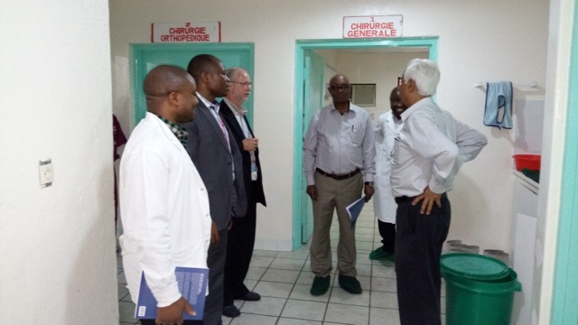 COSECSA Vist to Operating Theatres