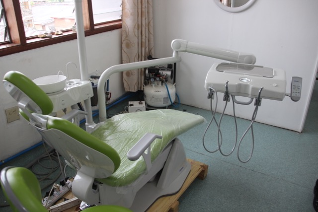 AusHEAL supplied Dental Chair and System funded by the PETA SEYMOUR FOUNDATION, Brisbane.