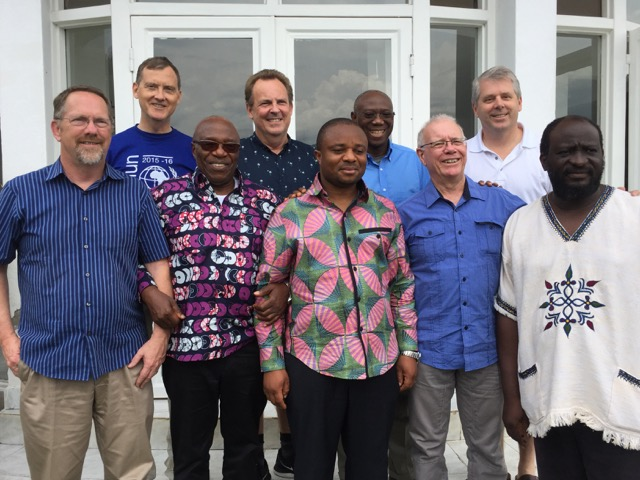 HEAL Africa Board. David Kelly front row, second from the right.