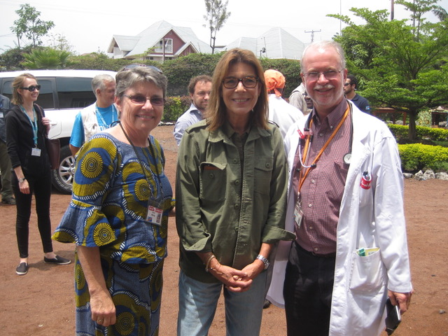 Princess Caroline of Monaco with Neil & Gwen Wetzig