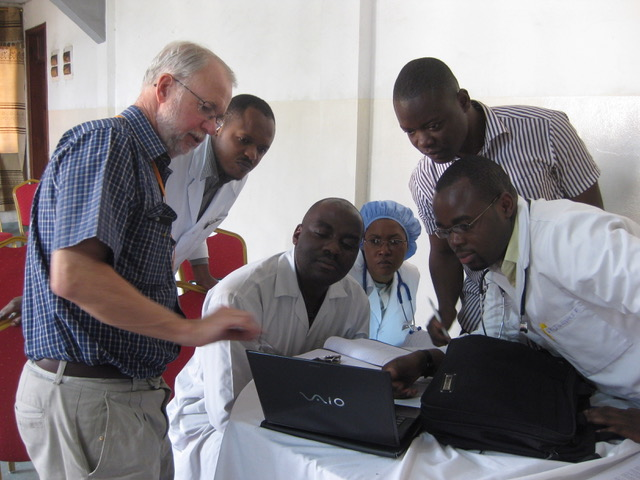 photo-7-cosecsa-trainees-viewing-x-rays-of-small-large-bowel-obstructions